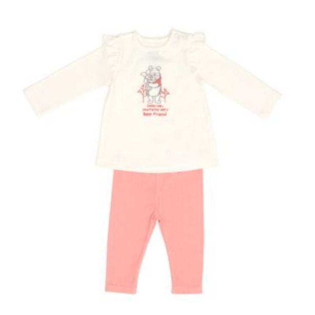 Disney Store Winnie the Pooh and Piglet Baby Top and Leggings Set på tilbud til 14 kr.