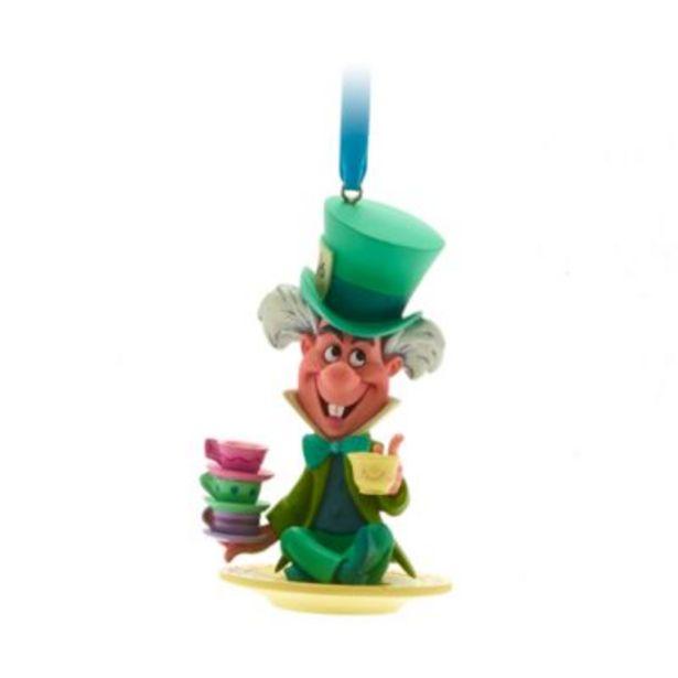 Disney Store Mad Hatter Hanging Ornament, Alice in Wonderland på tilbud til 18 kr.