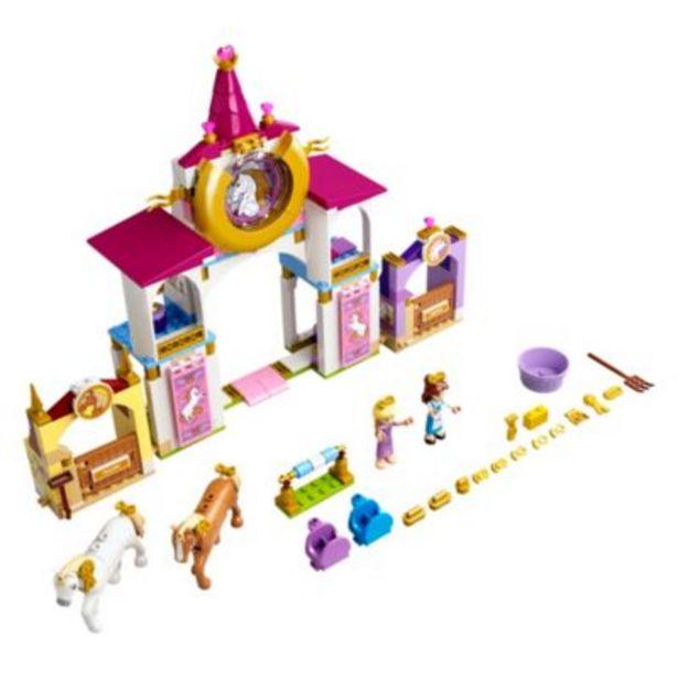 LEGO Disney Princess Belle and Rapunzel's Royal Stables Set 43195 på tilbud til 50 kr.