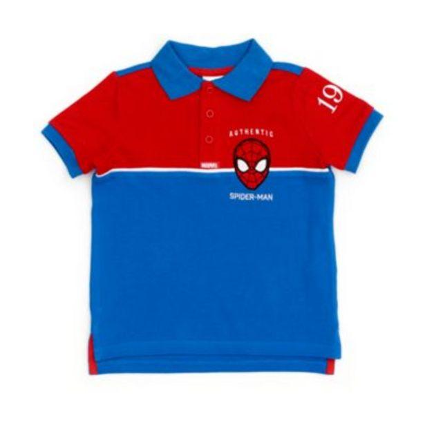 Disney Store Spider-Man Polo Shirt For Kids på tilbud til 16 kr.