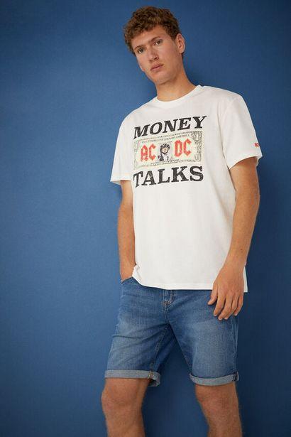 AC/DC T-shirt på tilbud til 9,99 kr.