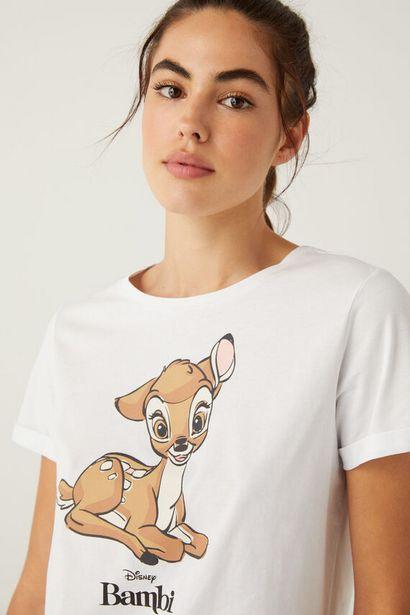 Organic cotton Bambi T-shirt på tilbud til 11,99 kr.