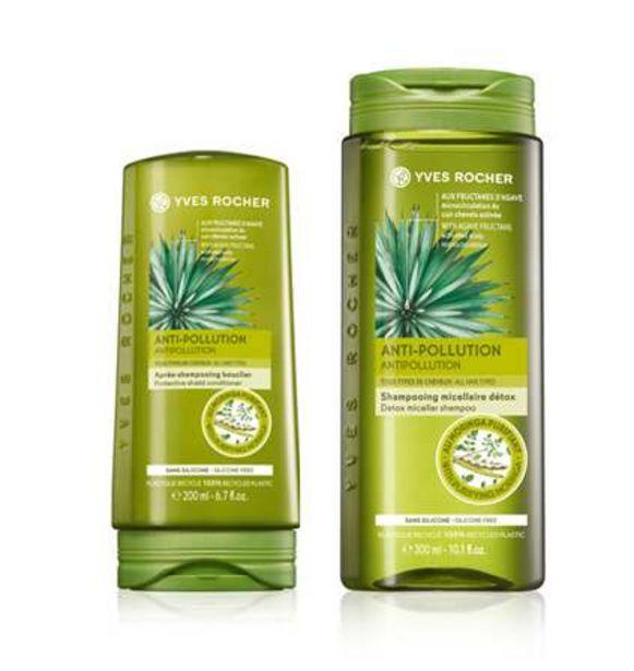 Sæt - Mod forurening, shampoo, balsam på tilbud til 99 kr.
