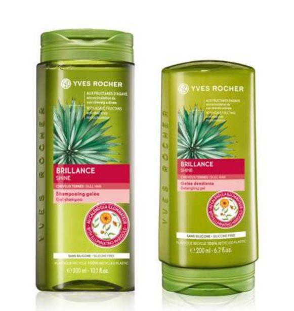 Sæt - Glansgivende shampoo, balsam på tilbud til 99 kr.