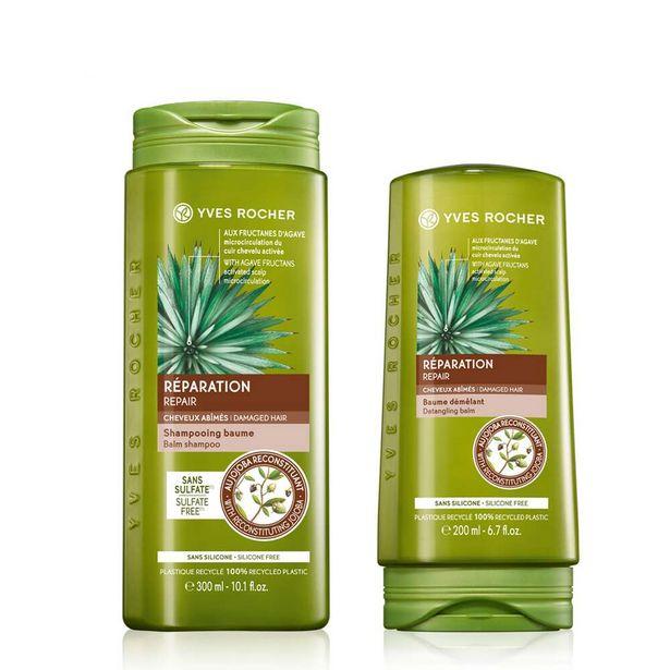 Sæt - Reparerende shampoo, balsam på tilbud til 99 kr.