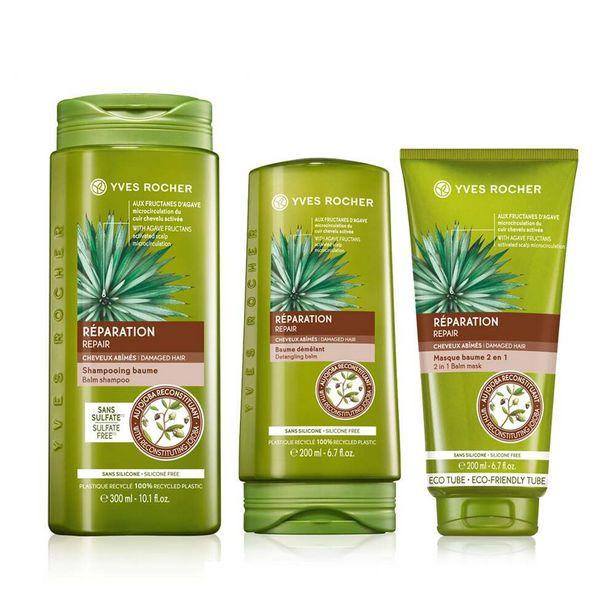 Sæt - Repair, balsam, shampoo på tilbud til 179 kr.